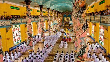 Cao Dai Temple & Cu Chi Tunnel Full Day